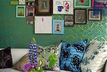 Wall art ideas / by Melissa Robinson
