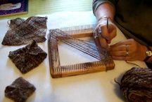 Weaving and knitting / for weaving and knitting / by H M