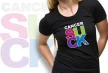 Cancer Sucks / Say It Like It Is With Our Cancer Sucks Merchandise / by Choose Hope