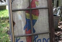 Old Windows / by Coastal Charm