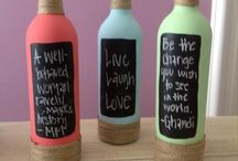Bottles of wine: reduce reuse recycle / by Alejandra Mejia