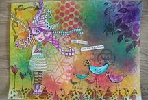 Art journaling / by Mia Hunter Walker