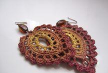 Crochet jewelry / by Vanessa Harlan
