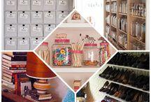 Organize it  / by Crinthia Wright Quinn