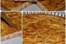 Pizzas,empanadas,cocas y quiches / by yolanda RP