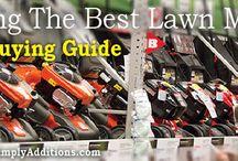 Lawn Mower Buying Guide 2014 / by Lex Voitek