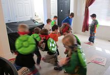 TMNT Party Ideas / by Sandy Cooper