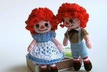 crochet dolls / by Samantha Hutchison