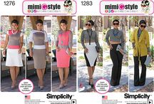 MIMI G FOR SIMPLICITY / Pics of my patterns for Simplicity and some fan pics. / by Mimi G. Style