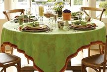 table settings / by Linda Siebach
