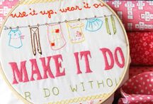 Embroidery / by Sherri McConnell: A Quilting Life Blog