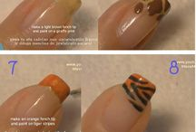 Nail Step by Steps / by April Battle