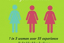 Coping With Light Bladder Leakage: Incontinence Products / by Stylehunter.com.au