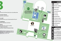 Know Before You Go / Visitor Maps of each floor of The Franklin Institute Science Museum located at 20th Street and the Ben Franklin Parkway, Philadelphia, PA / by The Franklin Institute