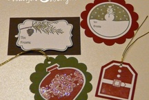 Stampin Up ® - Christmas ideas / by Rochelle Blok, Independent Stampin'  Up! Demonstrator