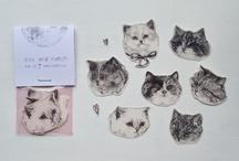 Fluffy kitty wonderland  / by Elizabeth