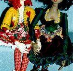 Cloth Art Dolls / Cloth Art Dolls / by Mallary Coleman