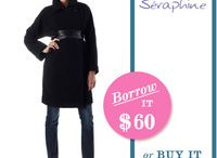 maternity outerwear / by Borrow For Your Bump (BFYB)