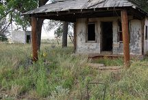 Abandoned homes, towns and places.... / by Jones Hewling