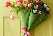 spring decor / by Pat DeHart