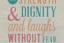 Quotes / by Hope Vande Voort