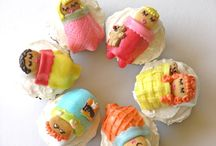 Cupcakes / Decorated cupcakes and cupcake recipes.  / by Hungry Happenings holiday recipes and party food