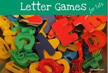 Learning - ABC's / by Kerina Edwards