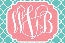 Monogram love / by Jami Collins