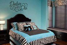 Girls bedrooms / by Aubrie Benefield