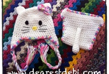 crochet hats / by Connie Stevens