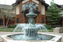 Fountains / Get inspiration for your fountain. No matter your style, or the space you have available, there is a fountain for you!  / by Carved Stone Creations