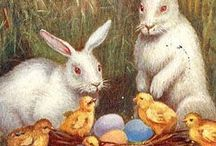 Vintage Easter/Spring Prints / Beautiful, richly-detailed, vintage Easter/Spring images to print. / by Kristine Harris