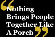 decks and porches / places to relax / by Mona Garvin