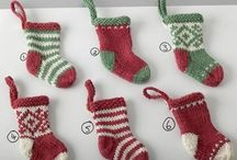 Knitted Christmas Ornaments / by Hand Knitted Things