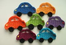 crochet / knit Appliques / by Marie Sacco