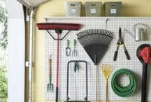 "Garage Organizing Ideas / by Liza Fewell ""LizaBean Designs"""