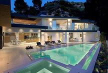 Dream Home / Every aspect of my dream home! Bathroom, bedroom, pool, vanity, kitchen, lounge etc. / by Paige Rose