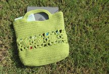 Crochet Bags Totes  Purses / by Tam Zimmerman