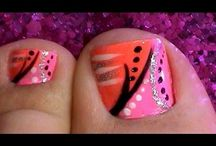 Nails!!! Cuteness :) / by Ashley Jacobs