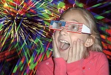 4th of July Fun / 4th of July fun for kids from 3D fireworks glasses to finger flashlights. / by Stocking Stuffers