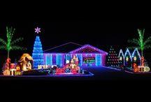 Christmas lights / by Christine Morrison