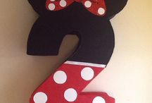 Mickey and Minnie Mouse / by Sheryl McGaffey