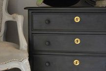 Paint by the Numbers / Painting tips for rooms and furniture.  / by Rebecca Arbogast