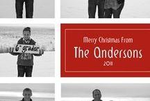 Christmas Card ideas / by Melody Poggio