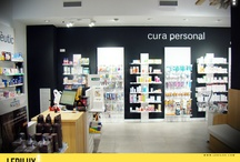 Farmacia Arturo Pujol  / Iluminación LED en farmacia ahorro del 80 %   www.ledilux.com  / by LEDILUX Iluminación