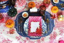Table setting / by Nikki Yan
