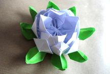 Origami Flowers / Origami & some teabag folded flowers / by Nut Smith