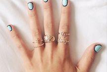 rings on rings on rings / by Meghan Ferrucci