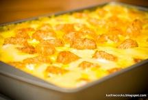 casseroles / by Rhonda Medford