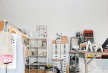 creative office space / by Grace Kang ♥ Pink Olive ♥